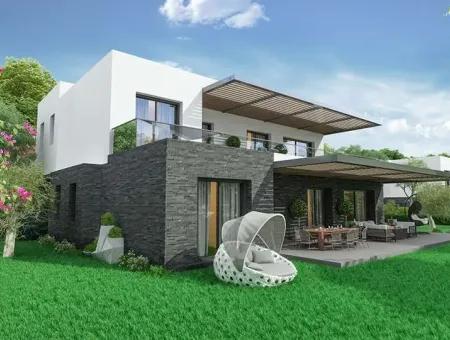 Marmaris Beldibi Mevkisinde Yüzme Havuzlu Site İçerisinde Tek Katlı Satılık Villa